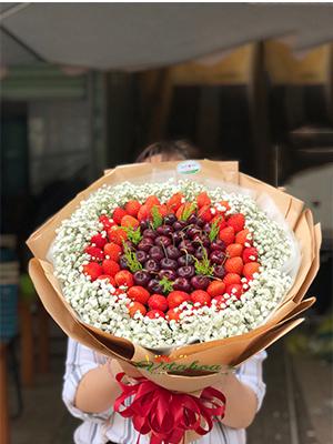 Hoa dâu tây cherry – DCR-003